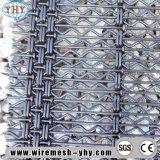 Maille tissée par acier d'armure toile pour la maille de machine de concasseur de pierres
