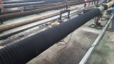A pasta fluida de grande diâmetro da mangueira de sucção e descarga do tubo flexível de borracha