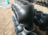 Kohlenstoffstahl-Kolben-nahtloses Rohrfitting-T-Stück