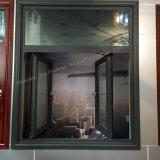 مزدوجة يزجّج [نويس ردوكأيشن] ألومنيوم قطاع جانبيّ شبّاك نافذة