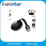 Receptor sin hilos de la visualización de WiFi Airplay Miracast del palillo de Hdim Chromecast TV