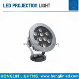 Riflettore esterno caldo dell'indicatore luminoso del giardino di vendita 12W IP65 LED per il paesaggio