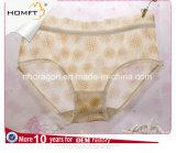 El nuevo diseño ventila las bragas transparentes atractivas de la ropa interior madura de las señoras del Lacework del acoplamiento del telar jacquar