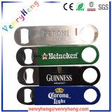 Ouvreur fait sur commande promotionnel de bouteille à bière de souvenir en métal de sublimation