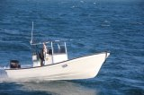 Liya 25pieds de console centrale pour la pêche Panga Modèle de Bateau Bateau de pêche avec T-haut