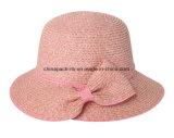女性夏のわらのバケツの帽子(CPHC8023X)