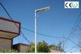 Capteur PIR 20W, 25 W, 30 W, 40W tous dans une rue lumière solaire