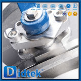 Didtek продело нитку нержавеющую сталь NPT шариковый клапан 3 частей