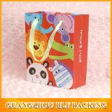 Compras de papel Bolsas de regalos con logotipos Logotipo personalizado Imprimir