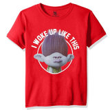 T-shirt Short-Sleeved de Nope de mise à jour de mode de petits garçons