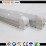 Tubo de la integración LED de Plastic+Aluminum 85-265V 9W 18W T8