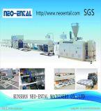 Vier Kammer Belüftung-Rohr-Extruder-Maschinen-Plastikstrangpresßling-Zeile 16-25mm