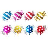 Ballon en aluminium de sucrerie colorée pour la décoration de Noël d'usager d'enfants