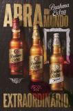 De promotie Rechthoekige Affiche van het Metaal van het Bier van de Vorm