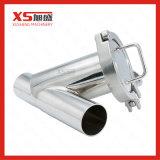 Tipo sanitário filtro da solda de extremidade Y da classe do filtro