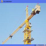 Fabricante de grúas torre de la Barra de 50m 6ton Cabeza de martillo Grúa torre