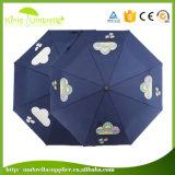 Mudar de cor Automático de silk-screen OPEN CLOSE 3 Dobre Umbrella
