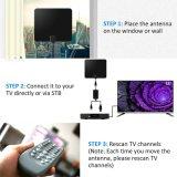 Плоский цифровой HD ТВ антенны HDTV Фокс Antenne VHF UHF 50 миль де
