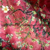 Impresión Digital de la moda de tela de gamuza for Women's Dress