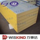 Superfície plana de aço PU/ Painel do tipo sanduíche de poliuretano Material de Construção