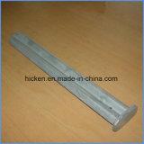 Часть CNC алюминия высокой точности подвергая механической обработке