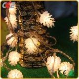 Luzes de Natal de pinho lanternas de pequenos Cones de Pinho Holiday Lantern lanterna LED piscar a luz de velas inserido de cadeia de caracteres string luzes decorativas