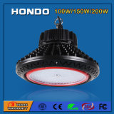 鉱山またはトンネルまたは給油所のための軽い湾の照明5年の保証100With150With200W 130lm/W UFO LED