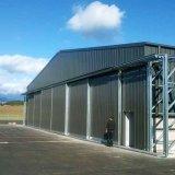 Pórtico de la construcción de hangar de aviones prefabricados