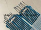 Soldadura por arco de plasma de electrodos de wolframio WL20 color azul