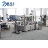 3 em 1 planta de engarrafamento líquida personalizada da máquina de enchimento da água de soda