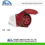 IEC Cee 12Vの頑丈な産業プラグおよびソケット