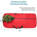 Serviço Pesado 60L Férias de poliéster saco de arrumação de Remoção de Árvores de Natal