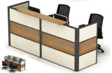 Büro-Möbel-hölzerner vorderer Tisch L Form-Empfang-Schreibtisch (SZ-RTT006)