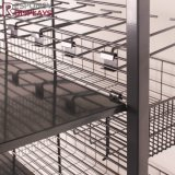 Soporte de visualización de los utensilios de cocina del estante de alambre del supermercado del suelo