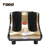 フィートのマッサージャーの足首の子牛の足のShiatsuの練る圧延の振動熱4つのモーター