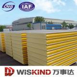 Mit hoher Schreibdichte 40-50kg/M3 Polyurethane/PU Zwischenlage-Panel der Ral Farben-