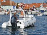 Barco de la costilla de la fibra de vidrio del viaje del pasajero del modelo nuevo de Liya el 19FT (HYP580)