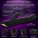 セリウムは渡した医学のシリコーンのバニーの振動の性のおもちゃのClitのバイブレーター(DYAST508)を