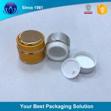 装飾的な包装のための丸型のアルミニウムクリーム色の瓶
