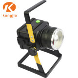 Hight Power T6 Portable trabajos al aire libre Luz LED linterna recargable