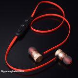 Usine prix bon marché Handfree Sports de plein air de couleur noir Casque Bluetooth avec lecteur de musique de microphone