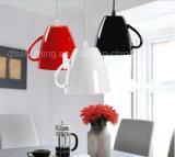 Самомоднейший творческий украшая светильник чашки чая освещения магазина кафа кофеего вися привесной