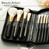 8PCS Private Label Plastic Handle Synthetic Hair Cosmetic Makeup Brush