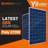 China Painel Solar PV de alta eficiência de 275 W 270W 265W 250W com preço acessível