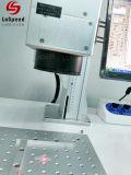 Un alto rendimiento de la máquina de marcado láser CO2 de cuero Marca de madera y diferentes tipos de material plástico