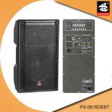 15 Spreker pS-5815debt van Bluetooth EQ van de FM van de AMPÈRE USB BR van de duim de PRO350W Digitale Plastic Actieve
