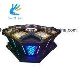 実質のカジノの硬貨によって作動させるルーレットのビデオゲーム機械カジノ