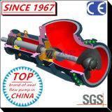 Pompa di elica chimica orizzontale/verticale del gomito di flusso assiale