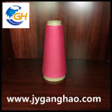 Filati filati poliestere nel colore rosa