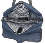 La moda Azul Marino Lienzo portátil bolsa bandolera